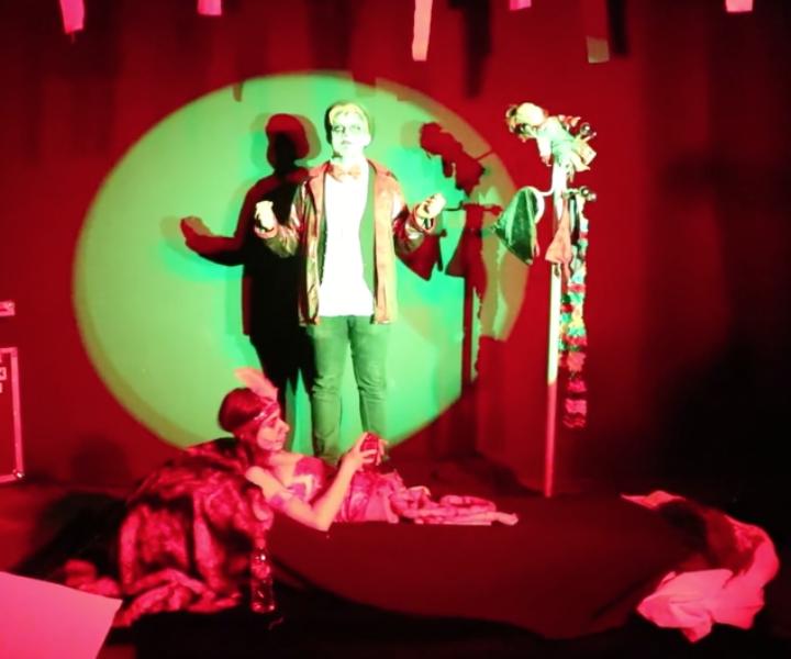 Halloween CIFOG, audiovisuals i espectacles, túnel del terror