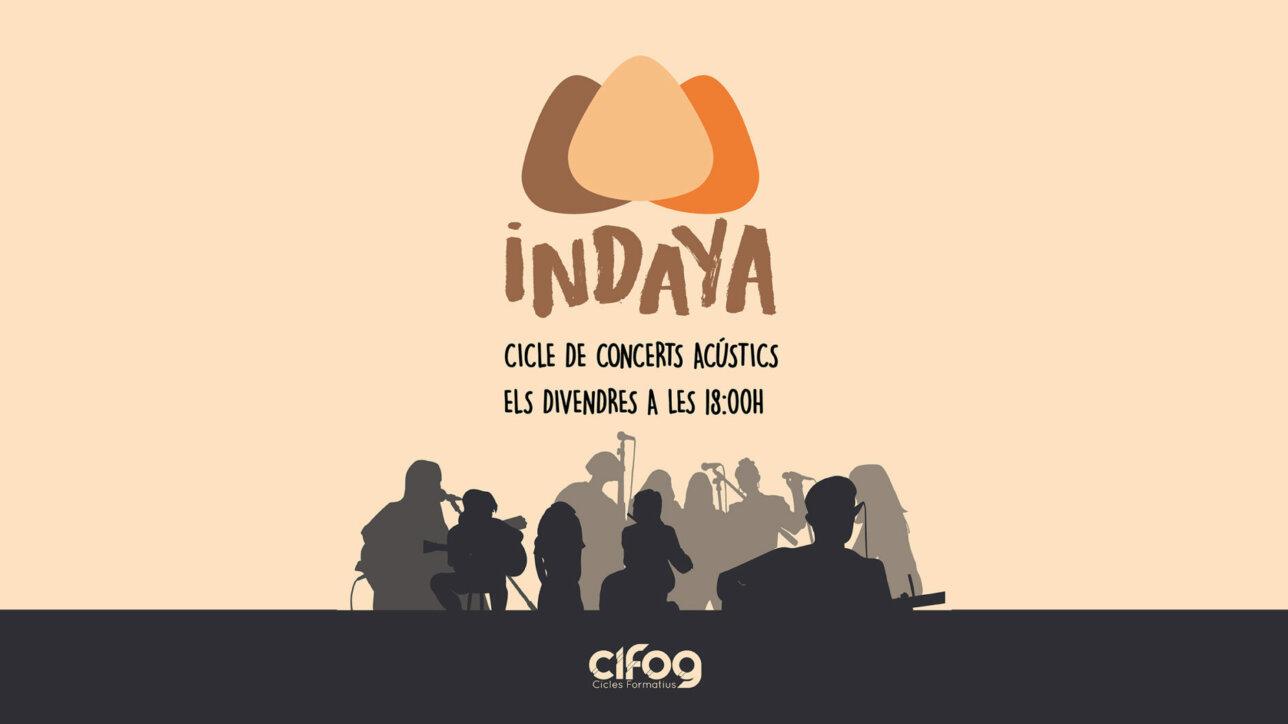 INDAYA concerts acústics escola CIFOG